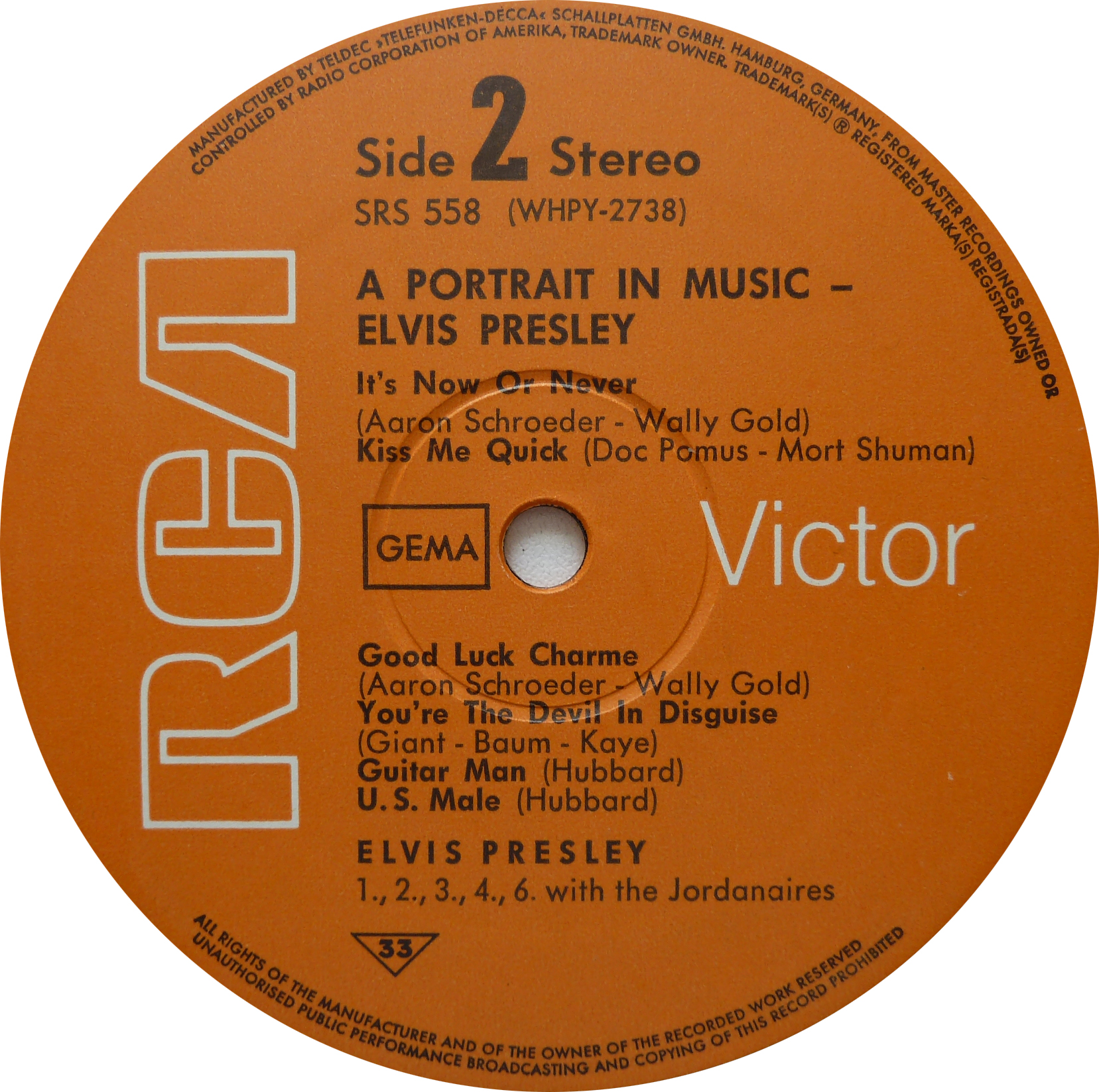 A PORTRAIT IN MUSIC Portrait68side2csobp