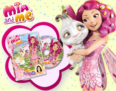 Mia and Me Serie 1 [5 Dvd] (2011).Dvd5 Custom - ITA [Completa]