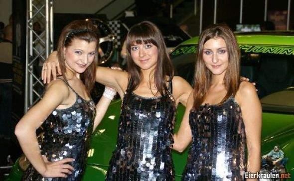 Dziewczyny z pokazów samochodowych #3 4