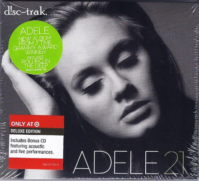 Adele - 21 (Target Exclusive Deluxe Ed.)(2011).Mp3 - 320Kbps