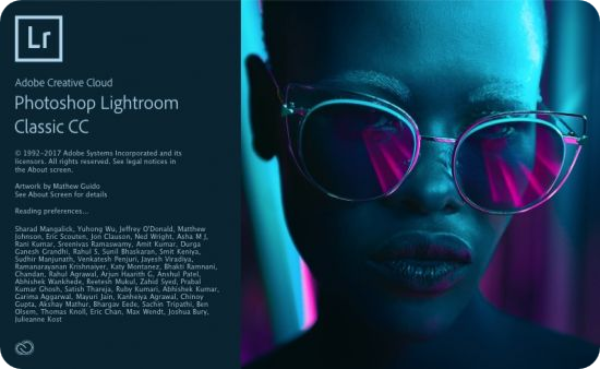 Adobe Photoshop Lightroom Classic CC 2018 für MacOSX