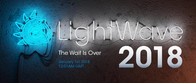 NewTek LightWave 3D v2018.0.1