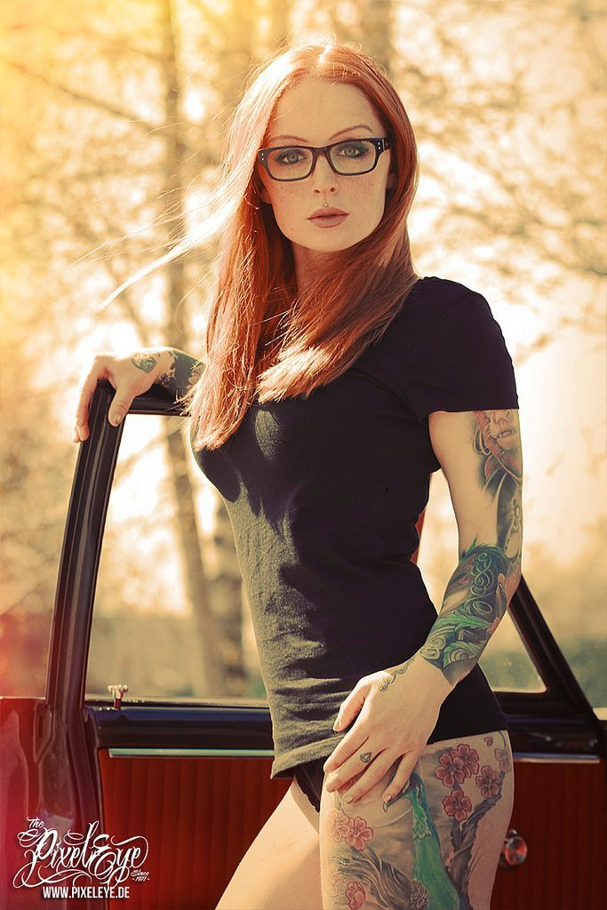 Dziewczyny z tatuażami #4 28