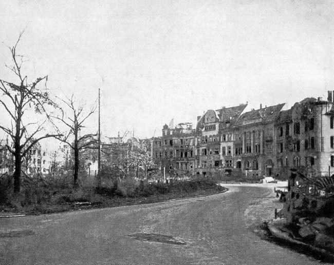 Wrocław  1945 Zniszczenia 104