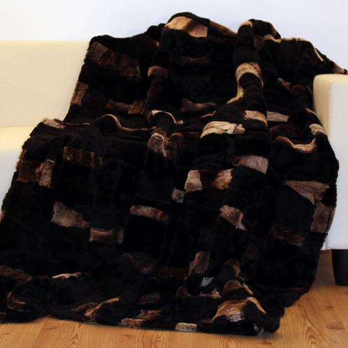 edle patchwork decke toscana lammfell 200x160 schaffell. Black Bedroom Furniture Sets. Home Design Ideas