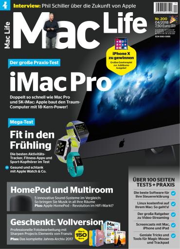 Mac Life Magazin April No 04 2018
