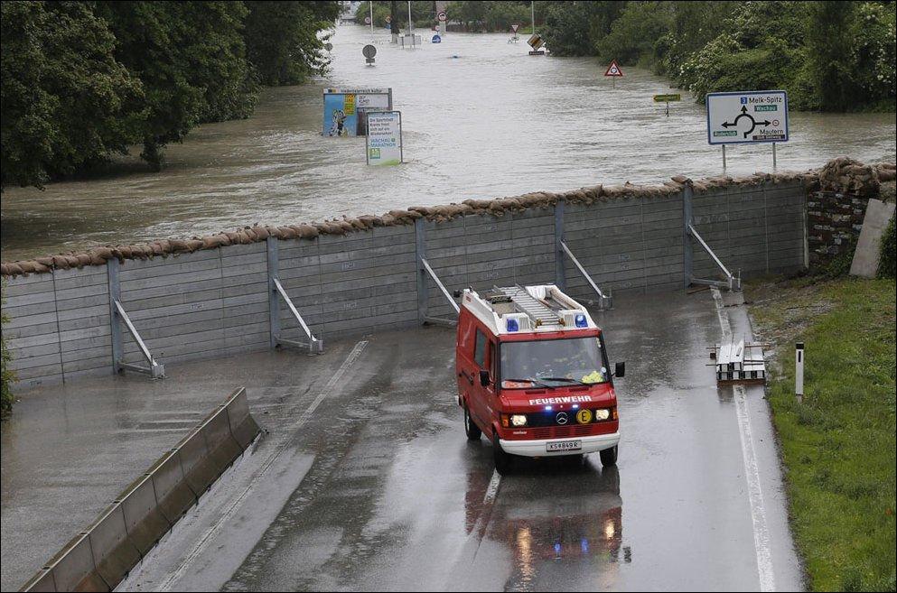 Powodzie w Europie 12