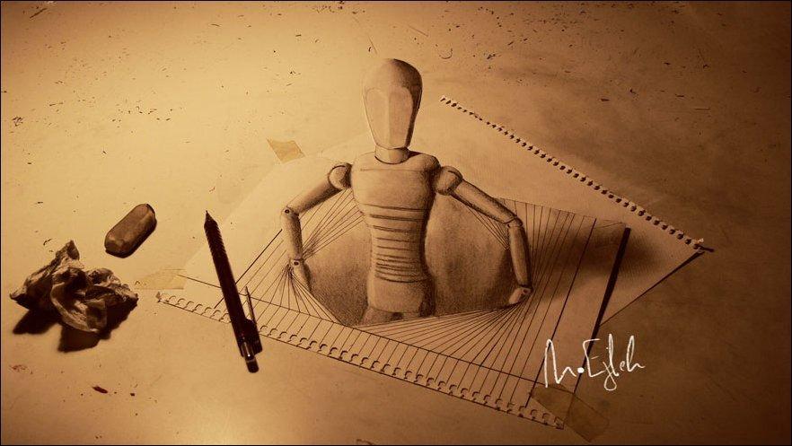 Rysunki 3D #6 12