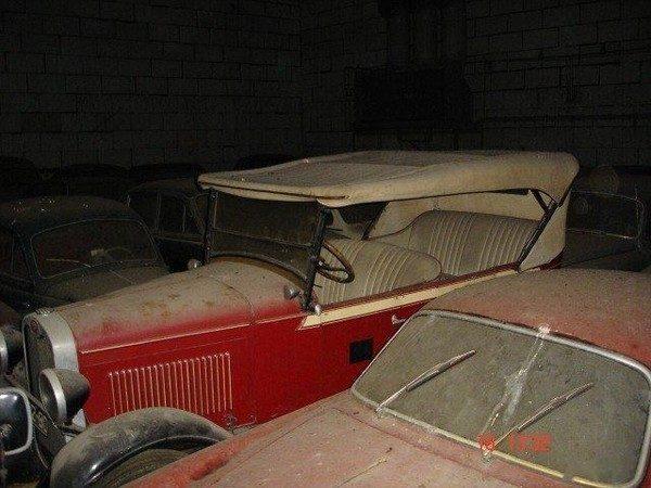 Zapomniana kolekcja samochodów 3