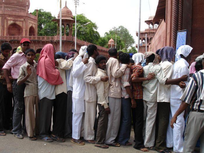 Kolejki w Indiach 5