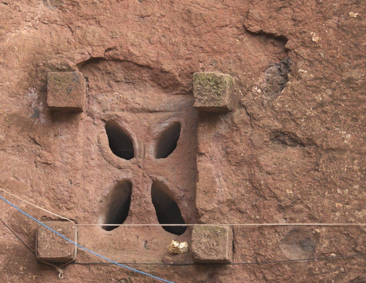 Kościoły skalne w Lalibeli 3