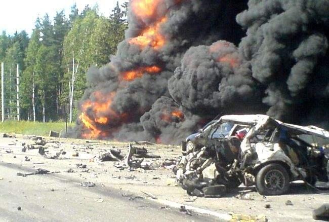 Wypadki ciężarówek 18
