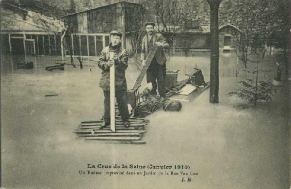 Wielka powódź w Paryżu 1910 27