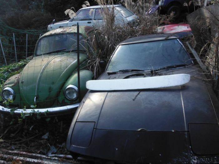 Zapomniany skład samochodów 43