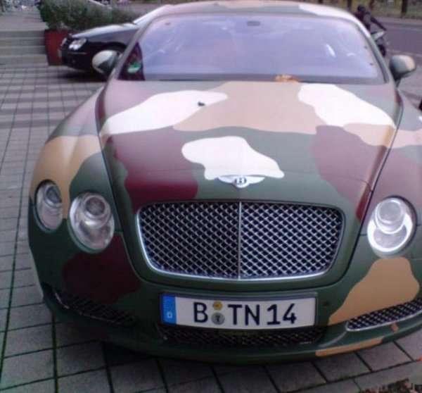Auto generała 4