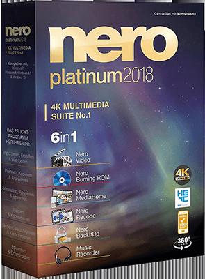 Nero Platinum 2018 Suite v19.0.07300 Multi - ITA