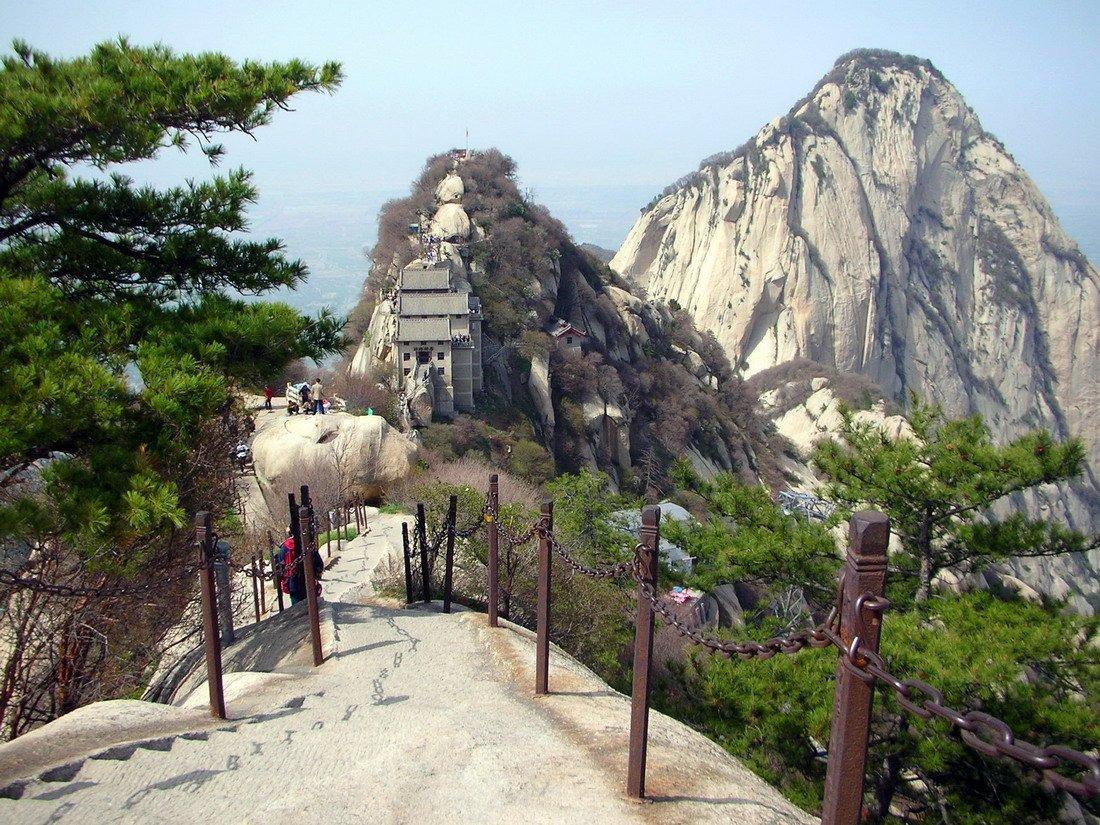 Droga na szczyt Hua Shan 31