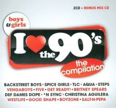 VA - I Love The 90's Boys & Girls Edition [3CD] (2014) .mp3 - V0