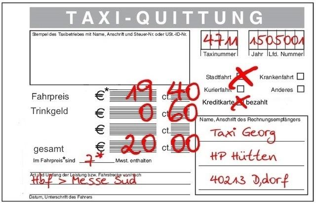 Das Bundesweite Taxiforum Thema Anzeigen Frage An Fahrer Mit Ft