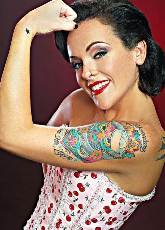 Dziewczyny z tatuażami 33