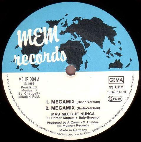 Mas Mix Que Nunca - wav - Vinylrip - (Italo Disco Mix)