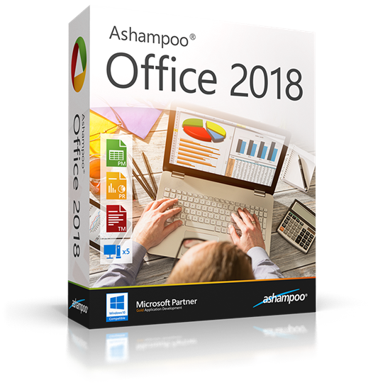 Ashampoo  Office Professional 2018 Rev 917.1121 Multilingual inkl.German