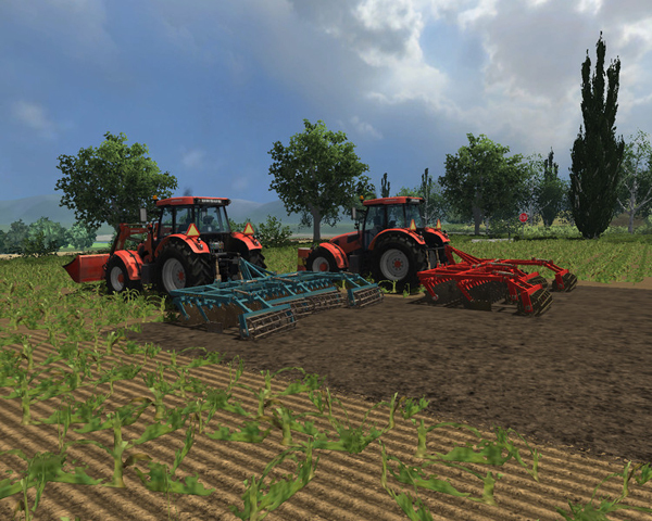 Raven and Kuhn Cultivators Set v 1.1