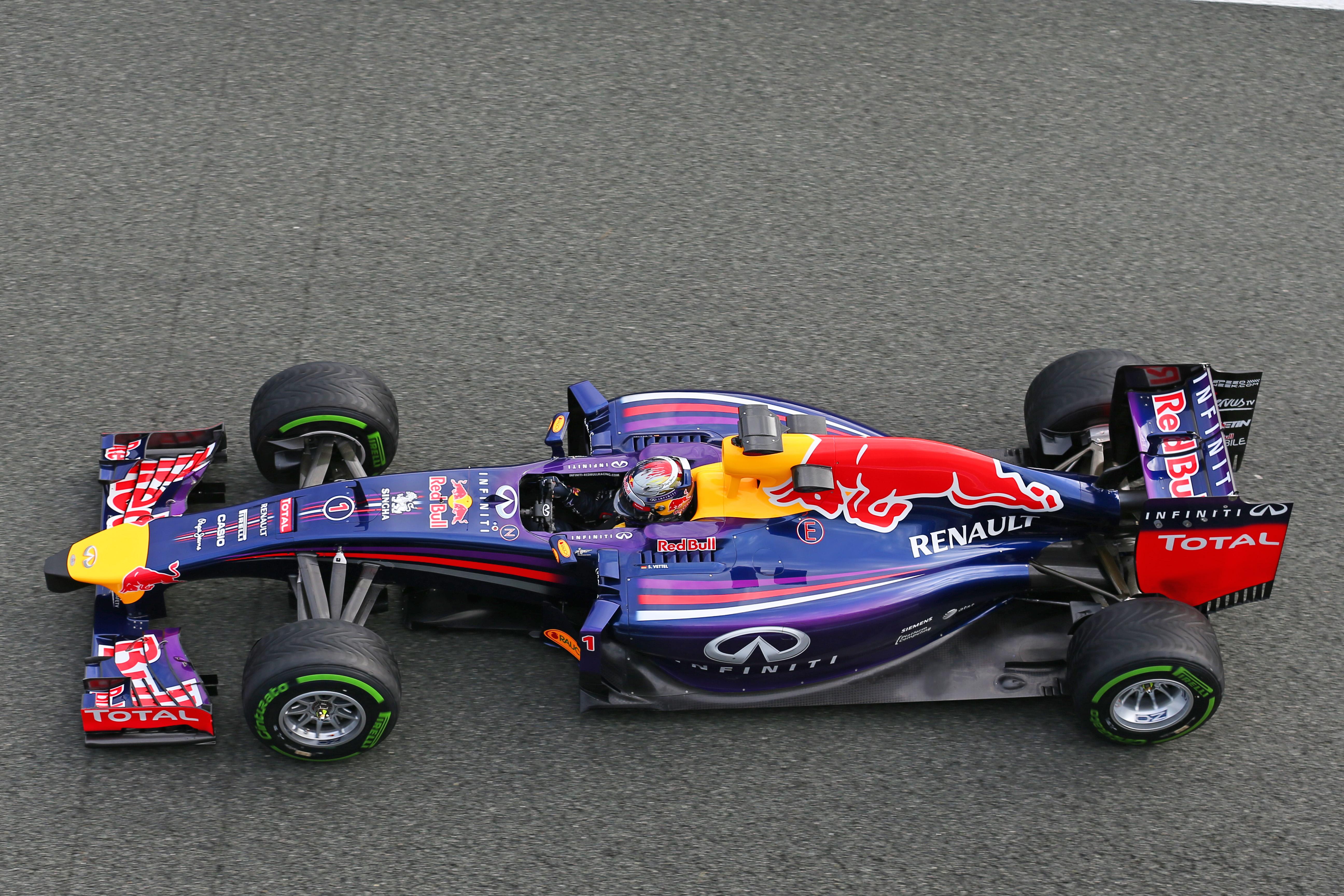 F1画像】2014年のマシン