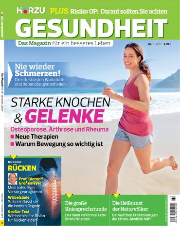 :  Hörzu Gesundheit Magazin September-November No 03 2017