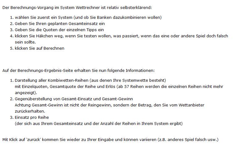 system wettrechner