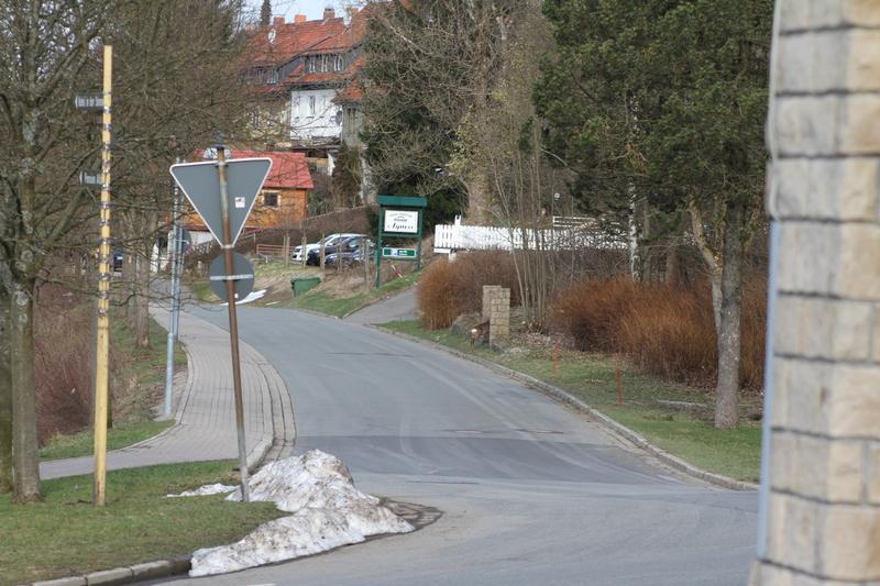 """Das Gelände des ehemaligen Hotels """"Hubertus"""" Rehe2015-04-110453pu5f"""