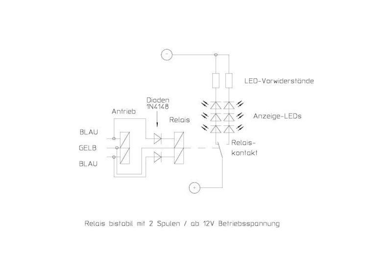 Standard Verkabelung mit Led Gleisbild - Stummis Modellbahnforum