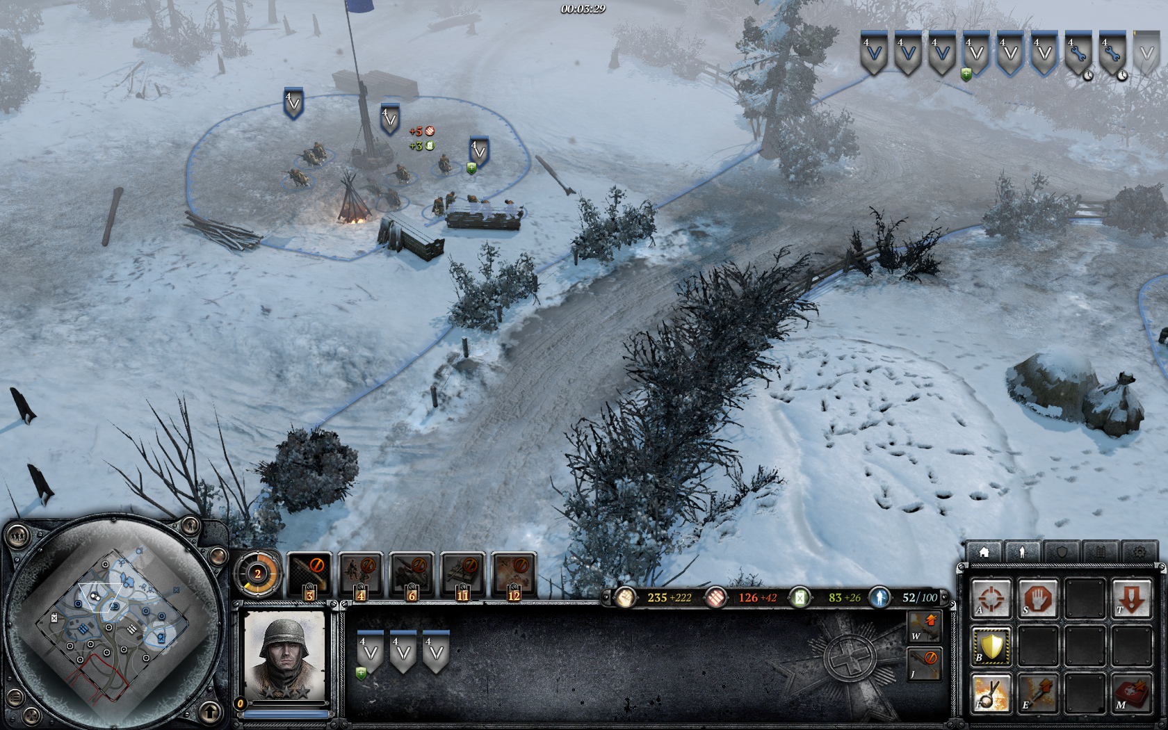 Coh 2 Case Blue : Company of heroes is a real snow job quarter to three