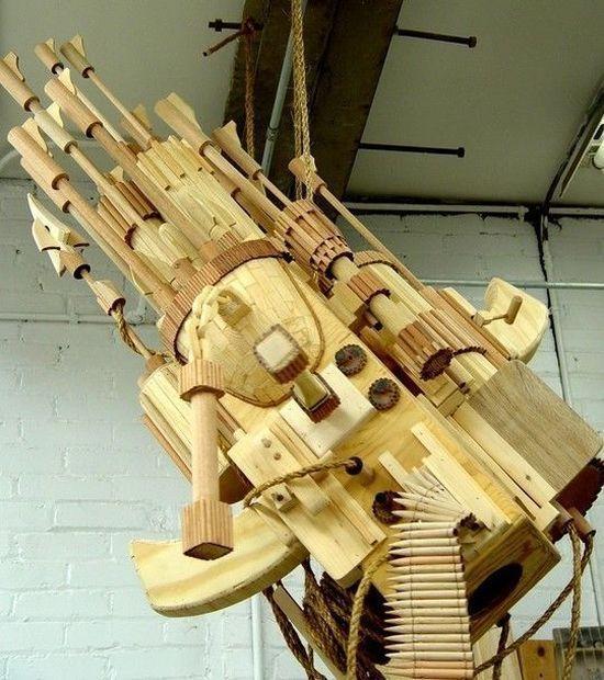 Rzeźby w drewnie 45