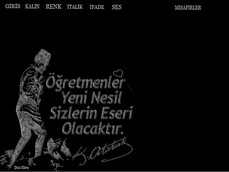 Ebru taraf�nca haz�rlanan flatcats radyo temalar�,��RETMENLER G�N�N�Z KUTLU OLSUN  ,Dsn Ebru