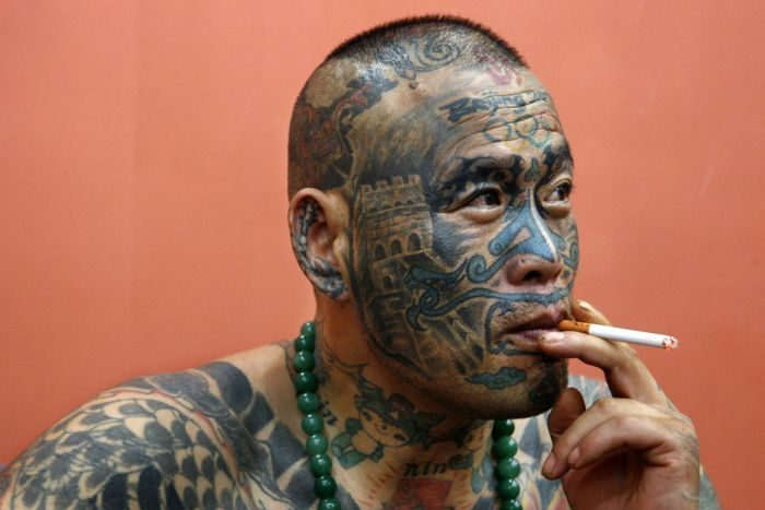 Hardcorowe tatuaże 28