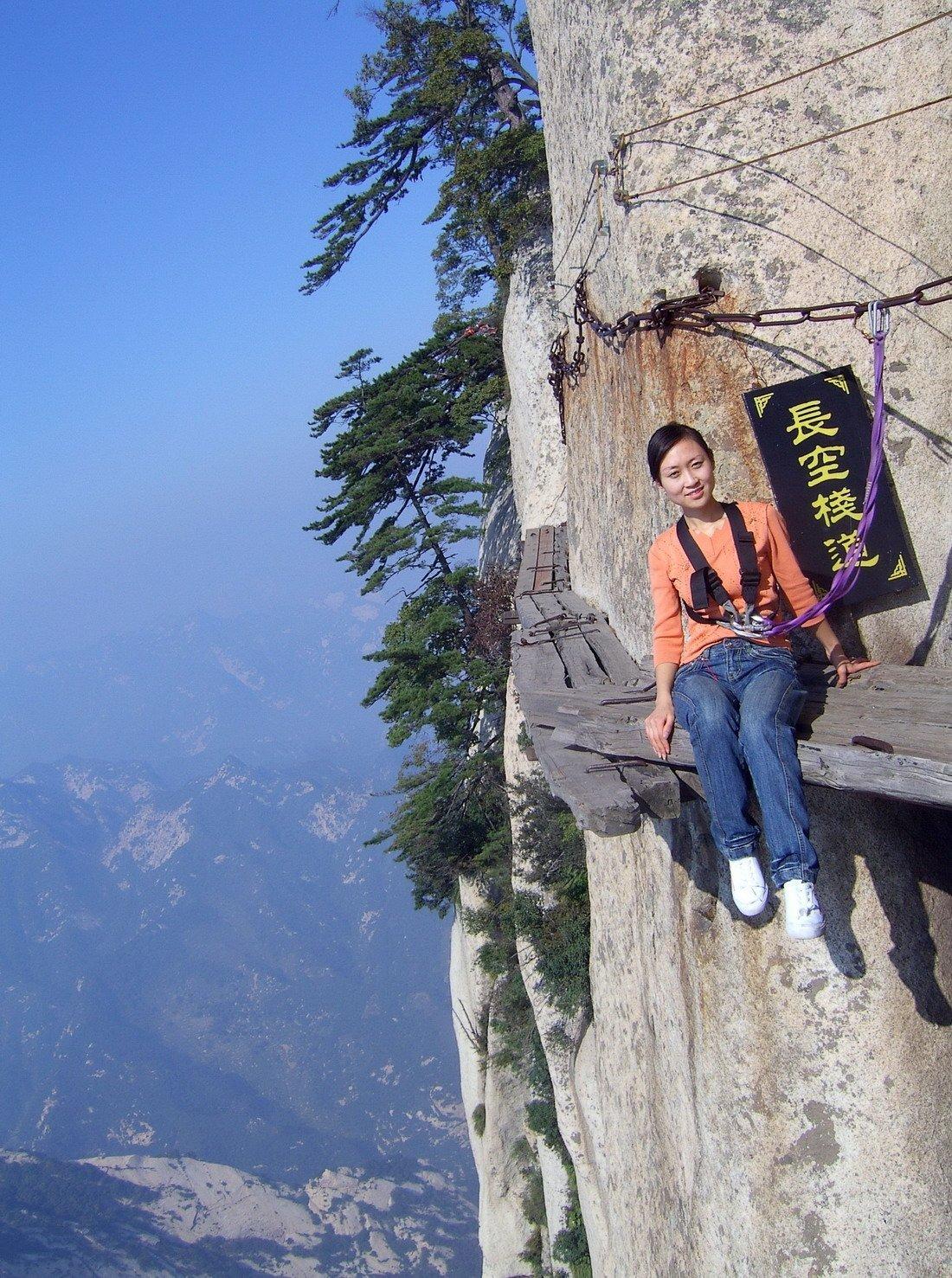Droga na szczyt Hua Shan 27