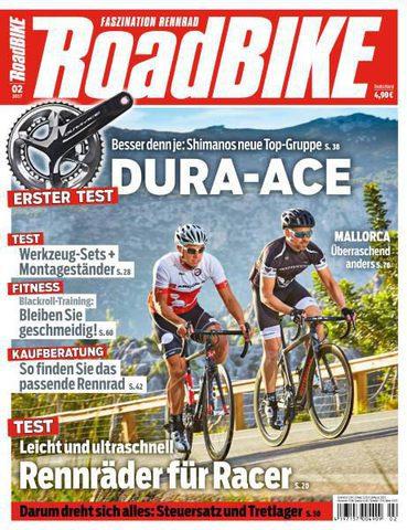 Roadbike  Magazin Februar No 02 2017
