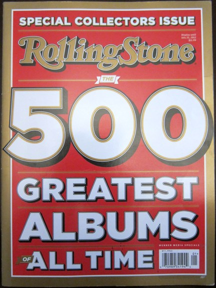 Rolling Stone Magazin 500 Greatest Albums Of All Time (1-500)