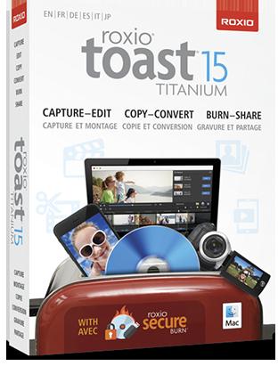 Roxio Toast Titanium v15.1.4486 MacOS