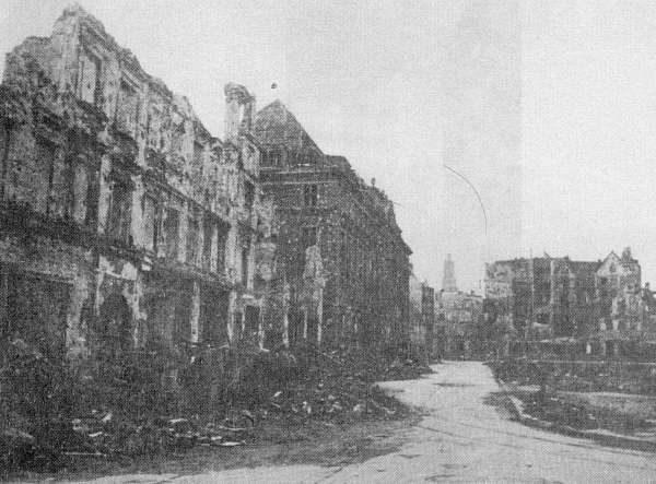 Wrocław  1945 Zniszczenia 95
