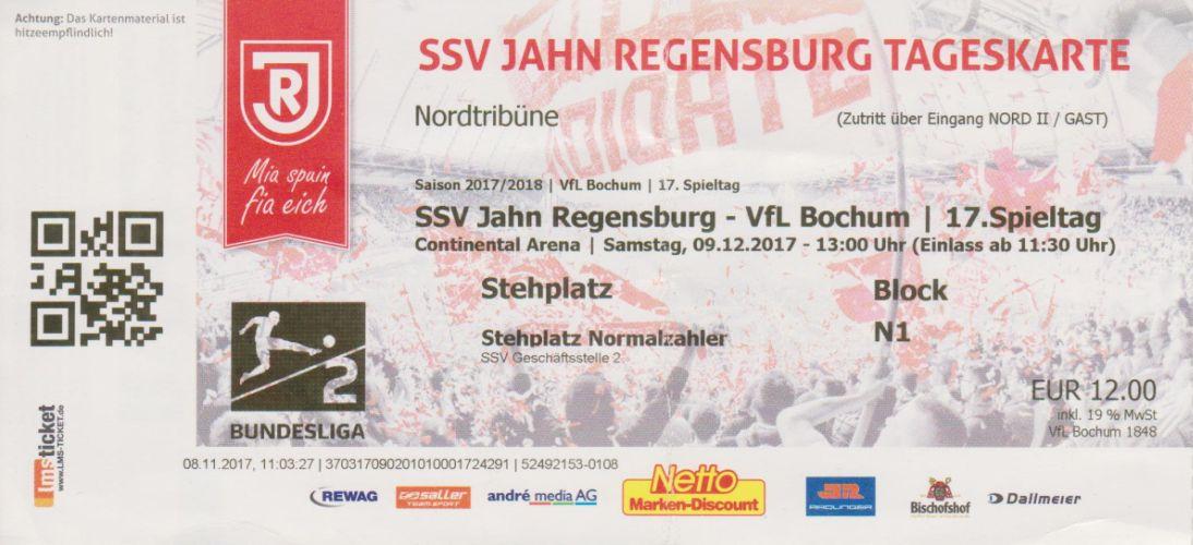 Ssv jahn regensburg tickets