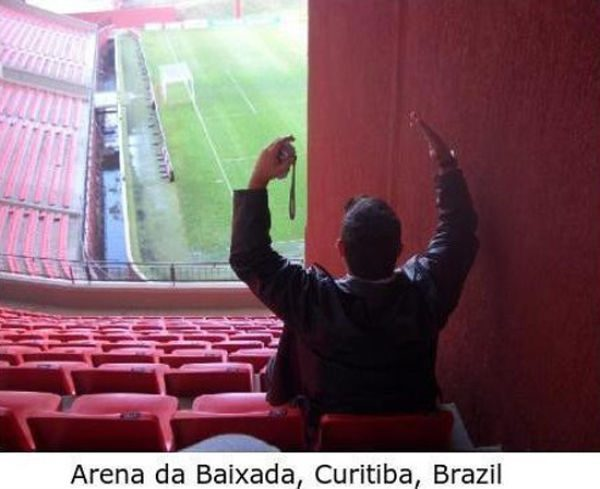 Najgorsze miejsca na stadionach 7