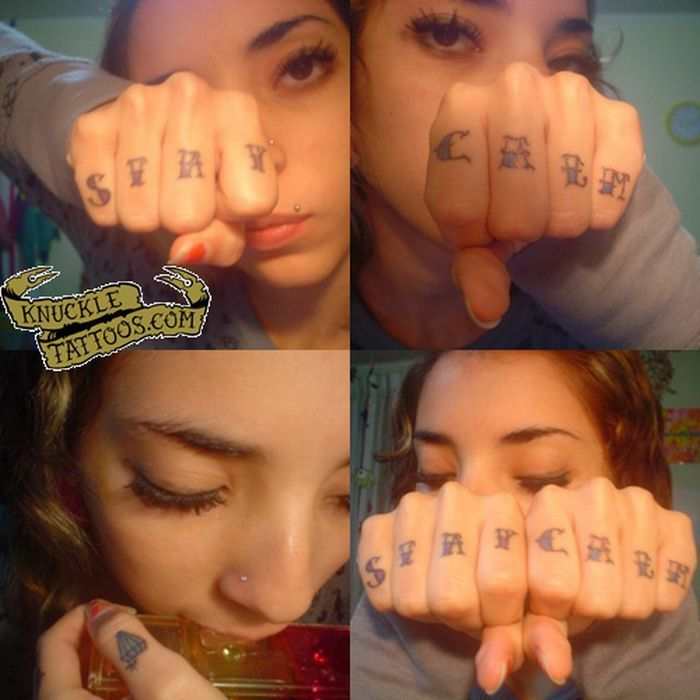 Tatuaże na kostkach 74