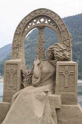 Rzeźby w piasku #2 20