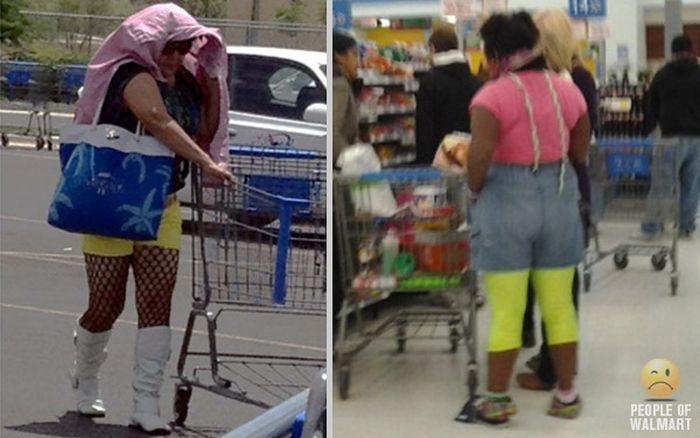Najdziwniejsi klienci z WalMart #17 21