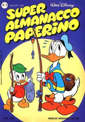 Super Almanacco Paperino Serie 2 - N. 2 (1980)