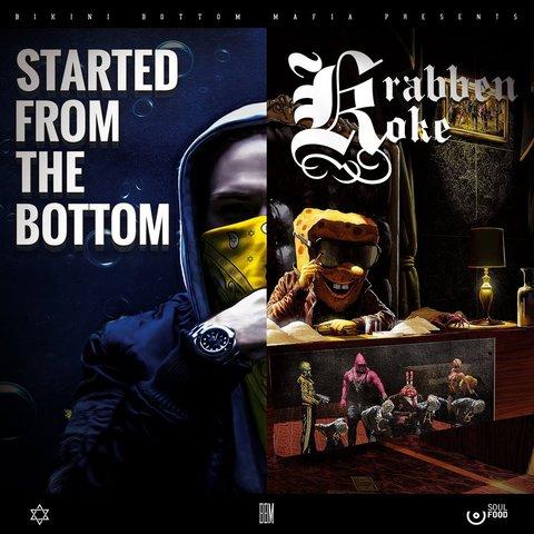 Cover: SpongeBOZZ - Started From The Bottom / Krabbenkoke Tape (2017)