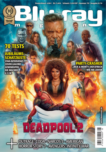 Blu-Ray Magazin für höchsten Filmgenuss Oktober No 08 2018