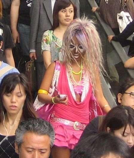 Ganguro - japońska popkultura 14